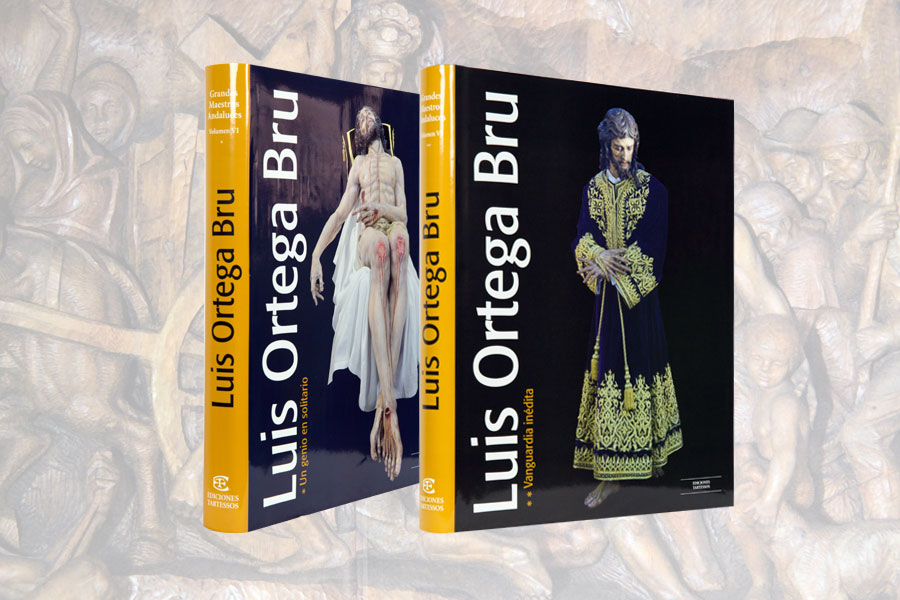 Luis Ortega Bru: El mejor libro del escultor y artista.