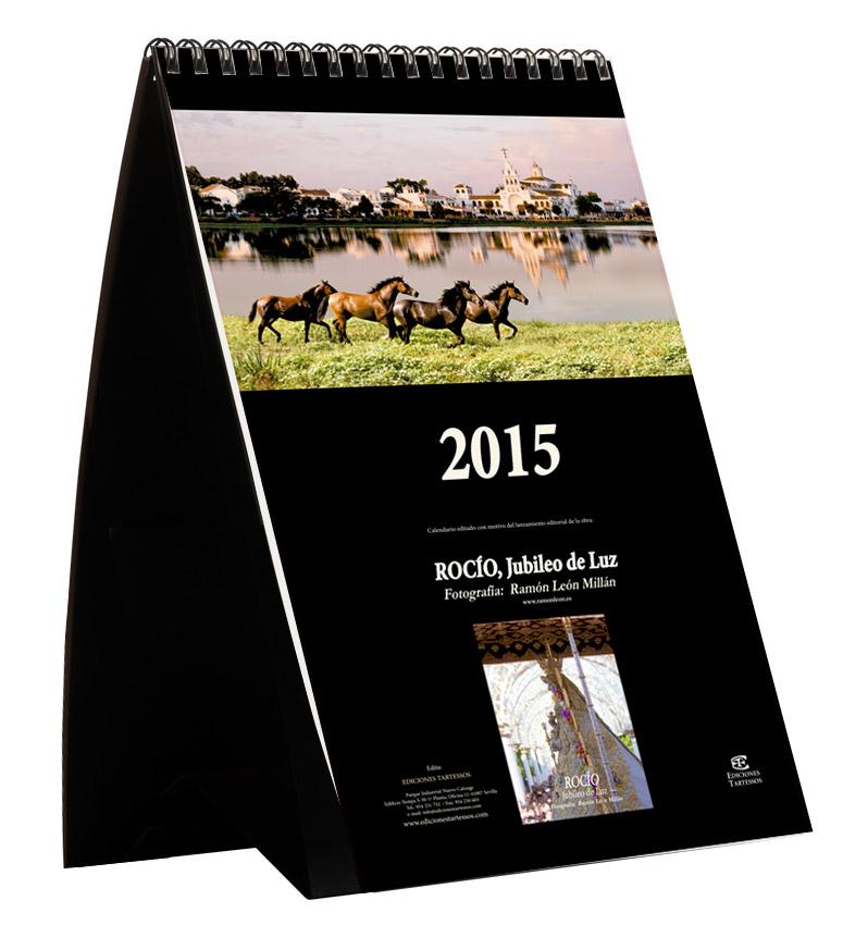 El Rocío: Calendario 2015 de Ediciones Tartessos.