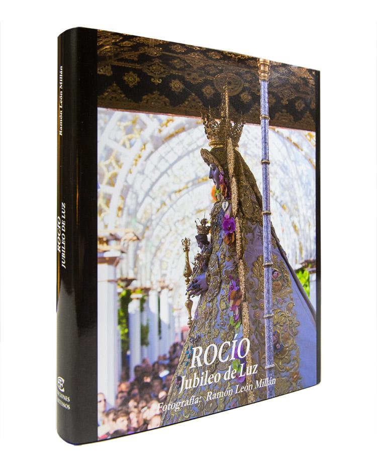 El Rocío: Jubileo de Luz de Ramón León. Portada de Ediciones Tartessos.